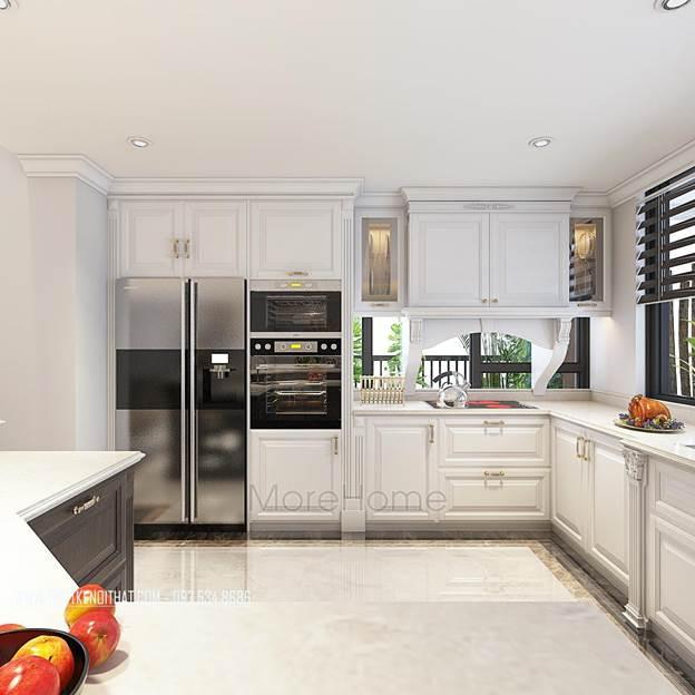 20 Mẫu thiết kế nội thất bếp – phòng ăn đẹp sang trọng